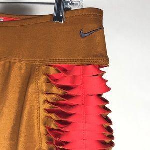 Nike DriFit Women's Skort Bronze Red M Tennis Golf